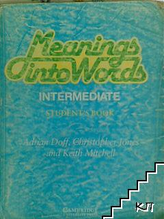 Мeaning into words intermediate student's book