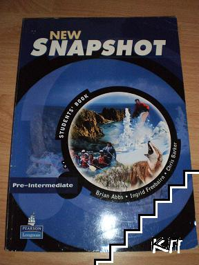 New Snapshot: Pre-Intermediate Students' book