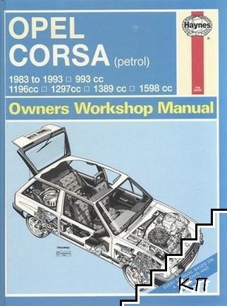 Opel Corsa Petrol (83 - Mar 93)