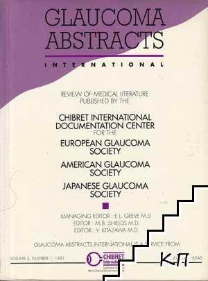 Glaucoma Abstracts. Vol. 2. No. 1 / 1991