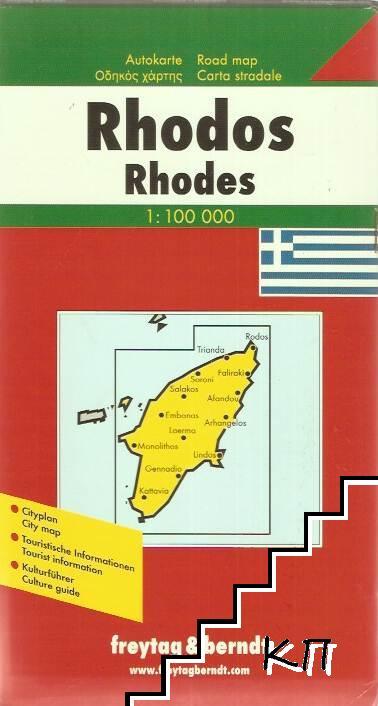 Rhodos M 1: 100 000