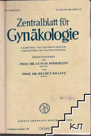 Zentralblatt für Gynäkologie. Tome 1-19