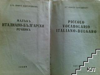 Малъкъ италиано-български речникъ