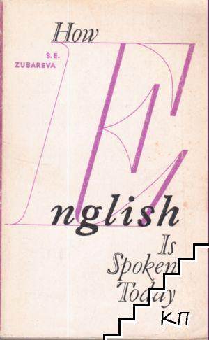How English is spoken today