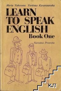 Learn to Speak English. Book 1
