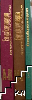 Енциклопедия на изобразителните изкуства в България. Том 1-3