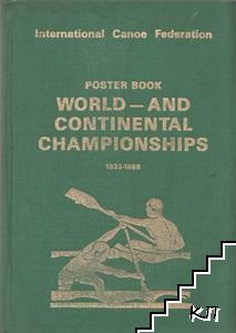 Poster book. World - and Continental Championships 1933-1988