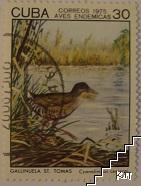 Птици - Cyanolimnas