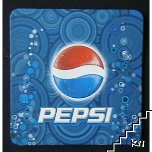 Подложка за безалкохолна напитка Pepsi