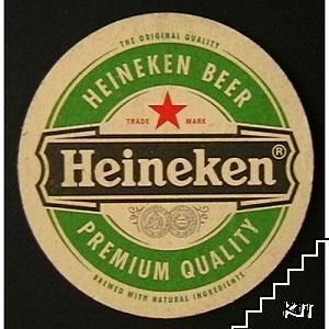 Подложка за бира Heineken