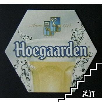 Подложка за бира Hoegaarden