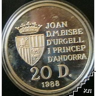 20 дайнърс / 1988 / Андора