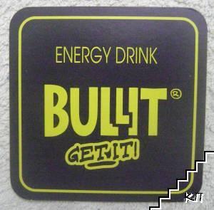 Подложка за енергийна напитка Bullit