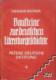 Bausteine zur Deutschen Literaturgeschichte