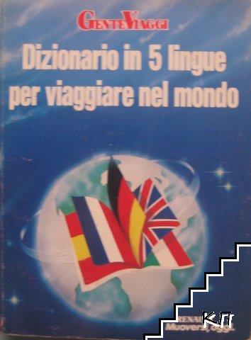 Dizionario in 5 lingue per viaggiare nel mondo