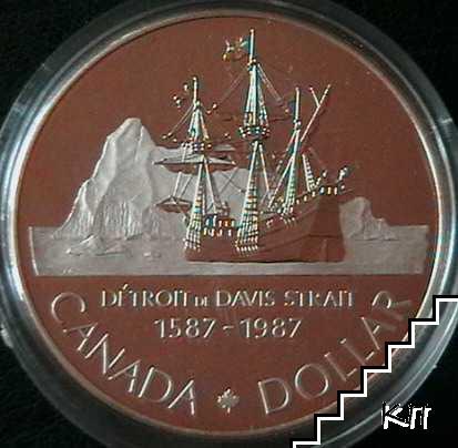 1 долар / 1987 / Канада