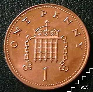 1 пени / 2004 / Великобритания