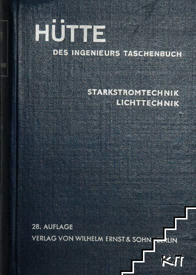 Hütte des ingenieurs Taschenbuch. Volume 4A: Elektrotechnik
