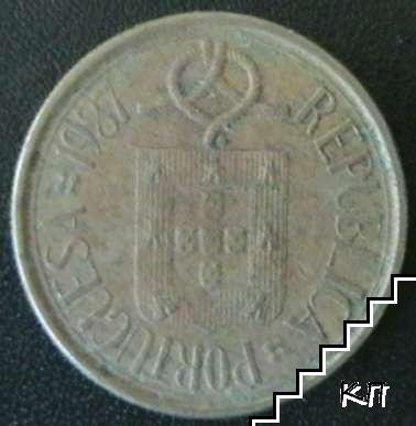 5 ескудо / 1987 / Португалия