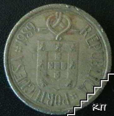 5 ескудо / 1989 / Португалия