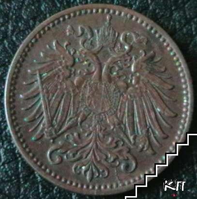 1 хелер / 1900 / Австрия