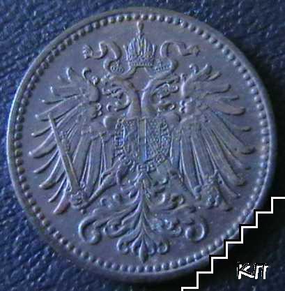 1 хелер / 1901 / Австрия