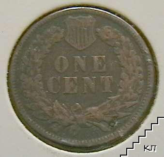 1 цент / 1895 / САЩ