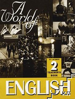 A world of English. Teacher's book 2