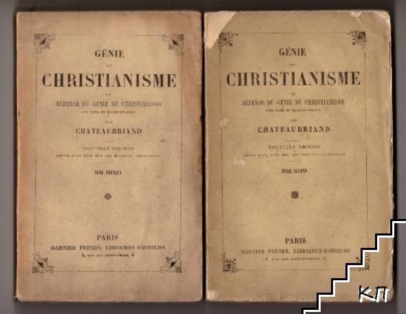 Génie du christianisme. Tome 1-2