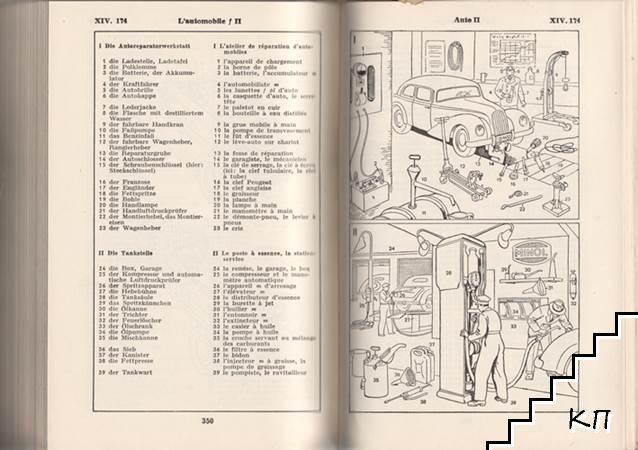Bildworterbuch. Deutsch und franzosisch (Допълнителна снимка 2)