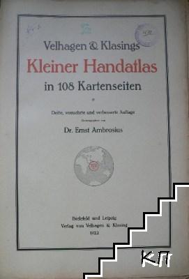 Kleiner Handatlas in 108 Kartenseiten