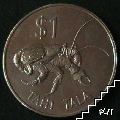 1 тала / 1980 / Токелау