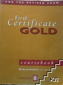 First Certificate Gold coursebooks