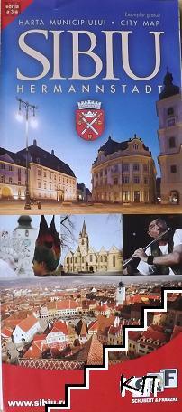 Sibiu. City map