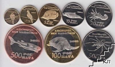 8 монети / 2015 / Маркизки острови