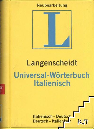 Langenscheidt Universal-Wö rterbuch Italienisch: Italienisch-Deutsch / Deutsch-Italienisch