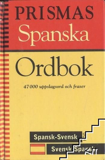 Prismas Spanska Ordbok: Spansk-Svensk och Svensk-Spansk, Grammatik