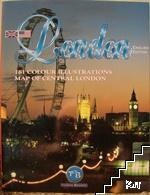 London - 161 Colour Illustrations and Map of Central London