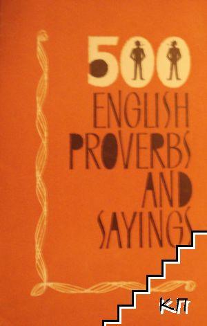 500 English Proverbs and Sayings