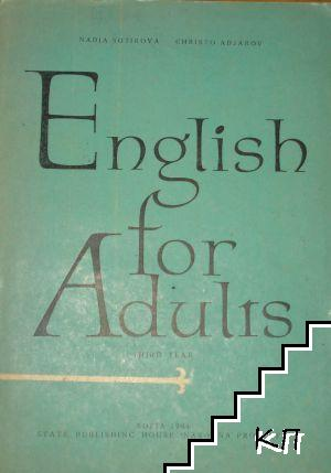 English for Adults. Third year