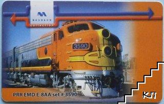 PRR EMD E-8AA set # 3590