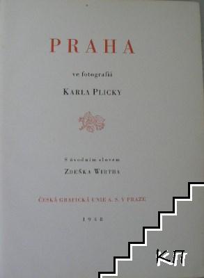 Praha ve fotografii Karla Plicky