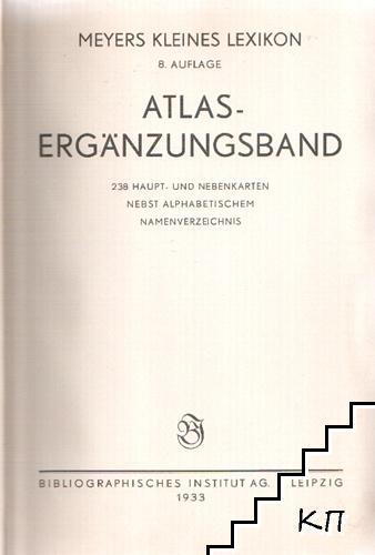 Atlas - Ergaenzungsband