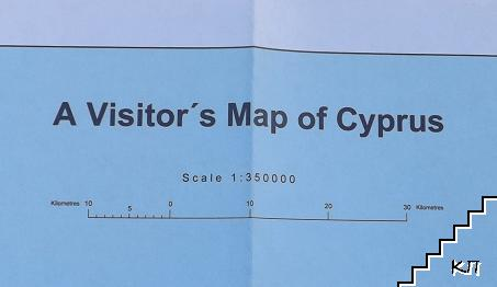 A Visitor's Map of Cyprus