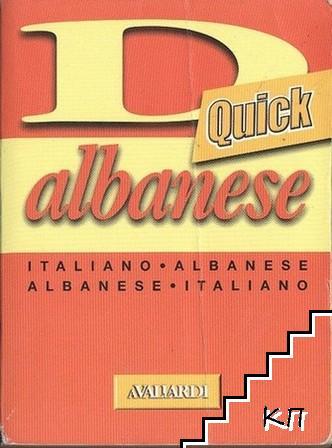 Dizionario albanese: italiano-albanese, albanese-italiano
