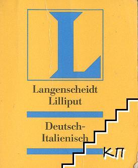 Langenscheidt Liliput: Deutsch-Italienisches Wörterbücher