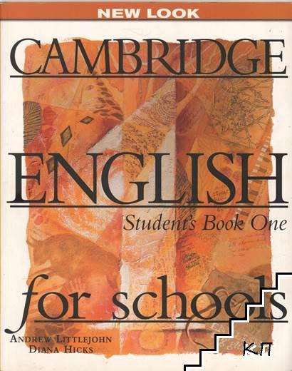 Cambridge English for schools. Part 1: Student's book. Workbook