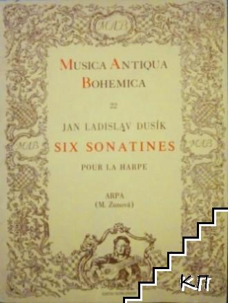 Six sonatines pour la harpe