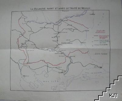 La Bulgarie avant et après le traité de Neuilly