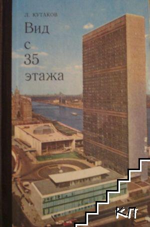 Вид с 35 етажа